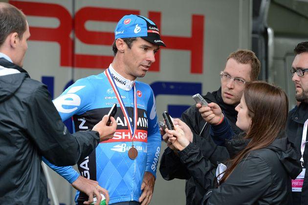 David Millar interviewed, British road race national championships 2013