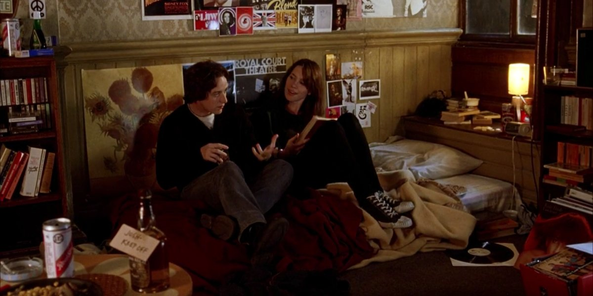 James McAvoy and Rebecca Hall in Starter For 10