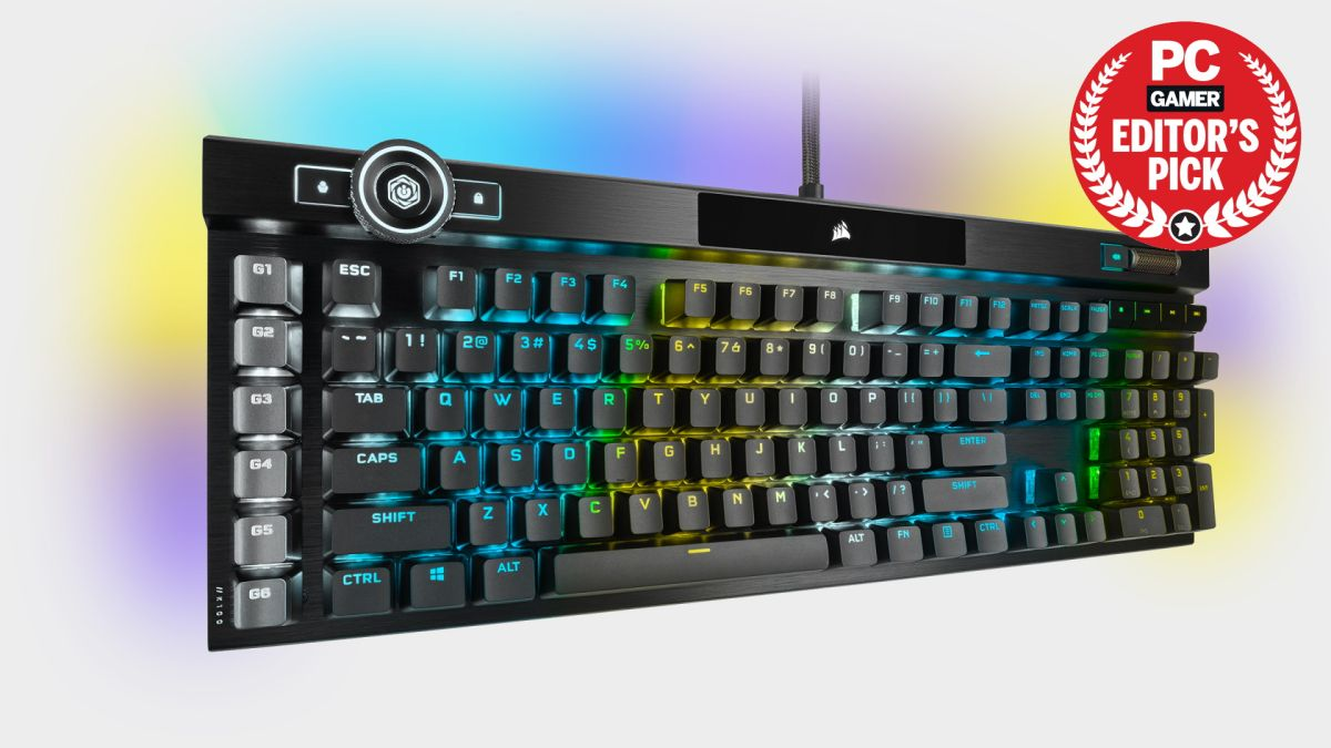 Corsair K100 RGB keyboard review