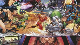 Heroes Reborn #1 variant cover