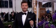 It's The End Of An Era As Ryan Seacrest Announces Departure From Red Carpet Coverage With Sweet Message