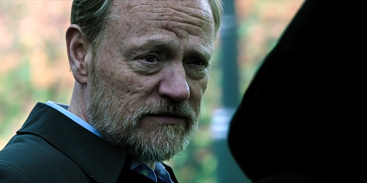 Jared Harris talks to Jared Leto in Morbius first trailer Sony