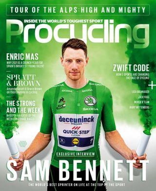 Procycling, Sam Bennett on the June 2021 cover