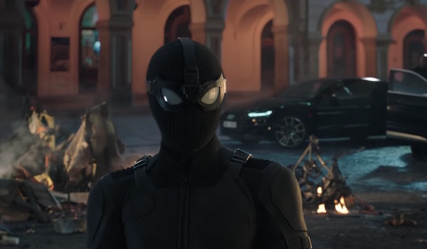 Peter Parker Spider-Man: Far From Home stealth suit