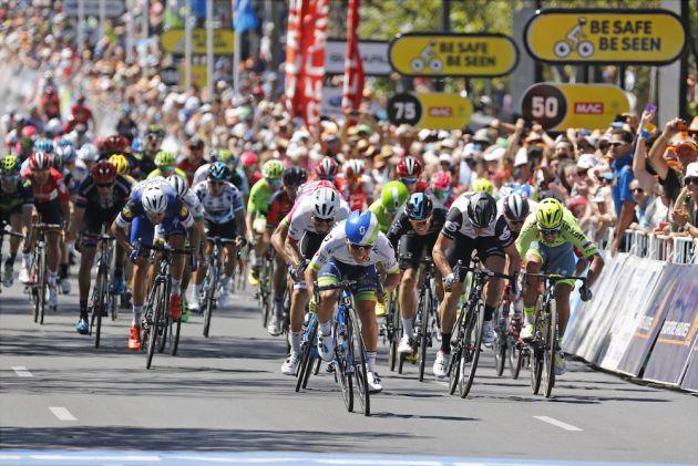 24 January 2016 18th Tour Down Under Stage 06 : Adelaide - Adelaide 1st : EWAN Caleb (AUS) Orica - GreenEDGE Photo : Yuzuru SUNADA