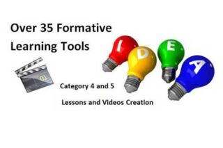 Over 35 Formative Assessment Tools To Enhance Formative Learning Opportunities, Pt 3
