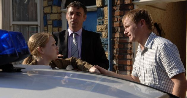 Claire Peacock, Julia Haworth, Ashley Peacock, Steven Arnold, EastEnders