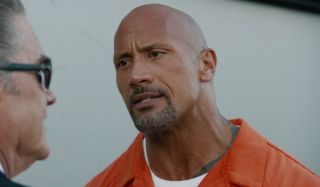 The Rock in The Fate of the Furious