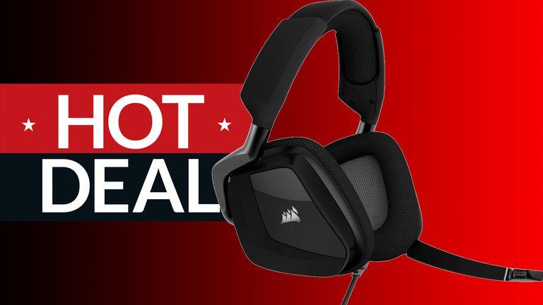 Best Buys' Corsair gaming headset sale saves you $20 on a Corsair VOID RGB Elite gaming heaset.