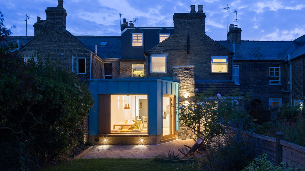 See inside a strikingly modern rear extension in a conservation area