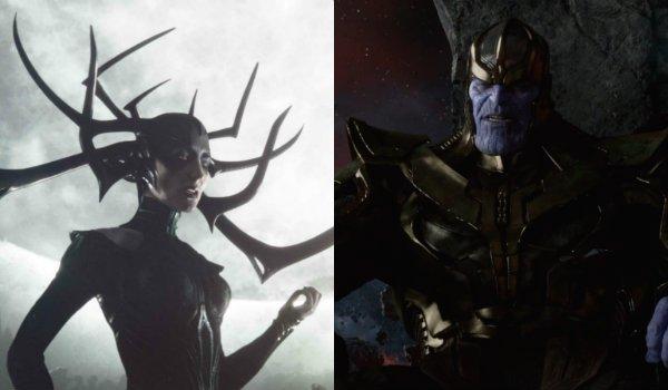 Thor Ragnarok Hela Cate Blanchett Josh Brolin Thanos