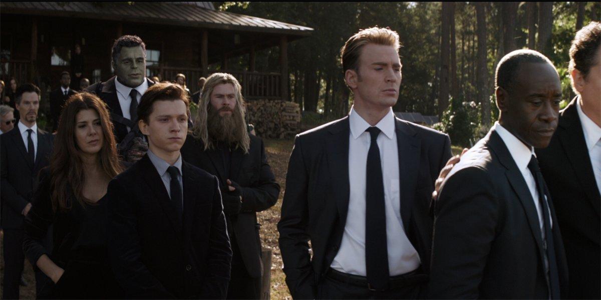 Tony Stark And Natasha Romanoff's Funeral (Avengers: Endgame)