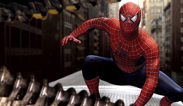 Spider-Man 2 Spidey on the train fighting Doc Ock