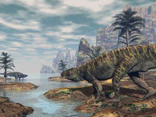 Batrachotomus dinosaur