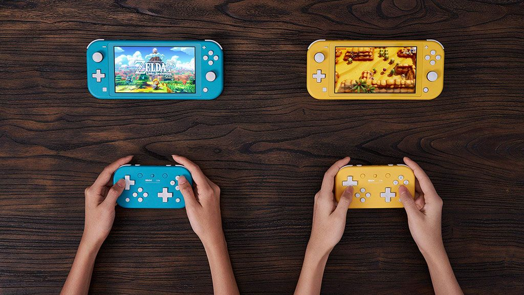 The first third-party gamepads for Nintendo Switch Lite have arrived