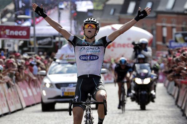 Zdenek Stybar, Eneco Tour 2013, stage seven.