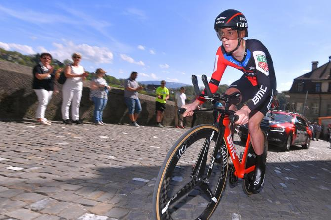 Tom Bohli (BMC Racing Team) at the Tour de Romandie prologue
