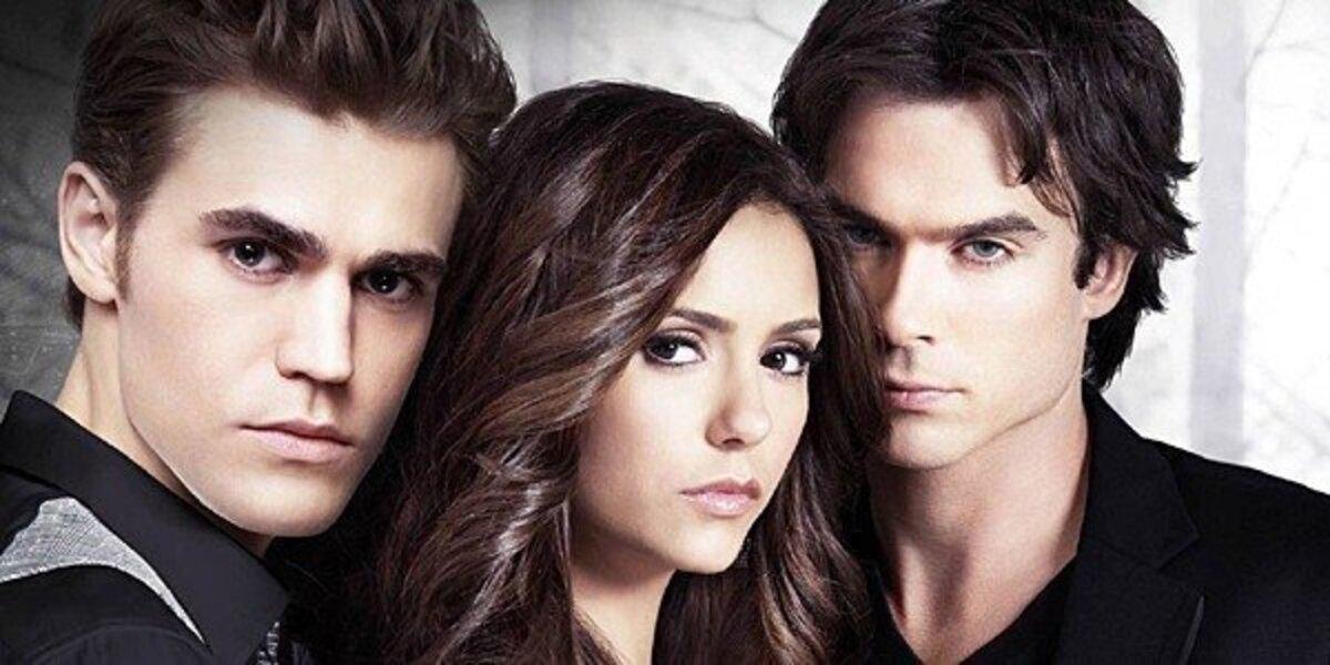 the vampire diaries love triangle stelena delena