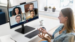 Samsung monitor conference call
