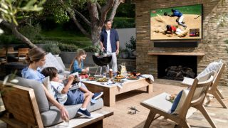 Samsung Terrace is an outdoor 4K TV for your garden