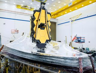 Work on NASA's James Webb Space Telescope has paused as California imposes restrictions meant to slow the spread of the coronavirus-carried disease COVID-19.