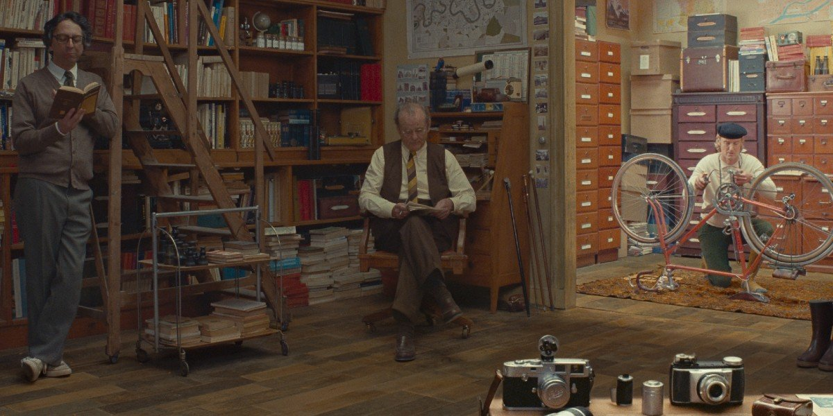 Bill Murray, Owen Wilson - The French Dispatch