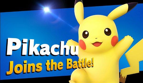 Super Smash Bros. Pikachu's entry card
