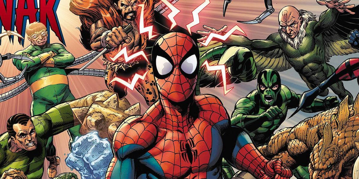 Spider-Man and his villains
