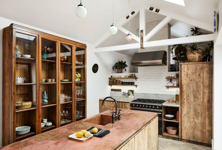 Ways to use wood in a kitchen