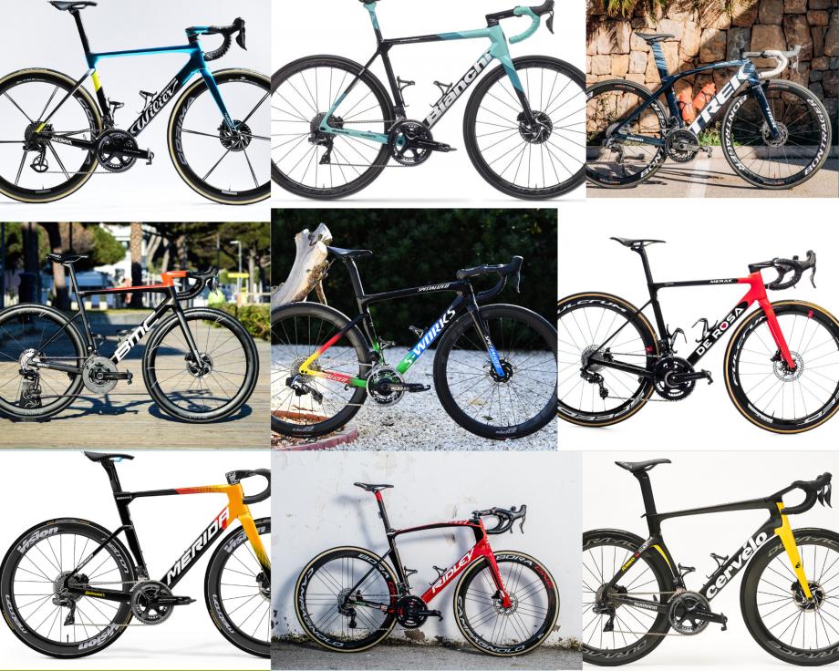 2021 WorldTour bikes