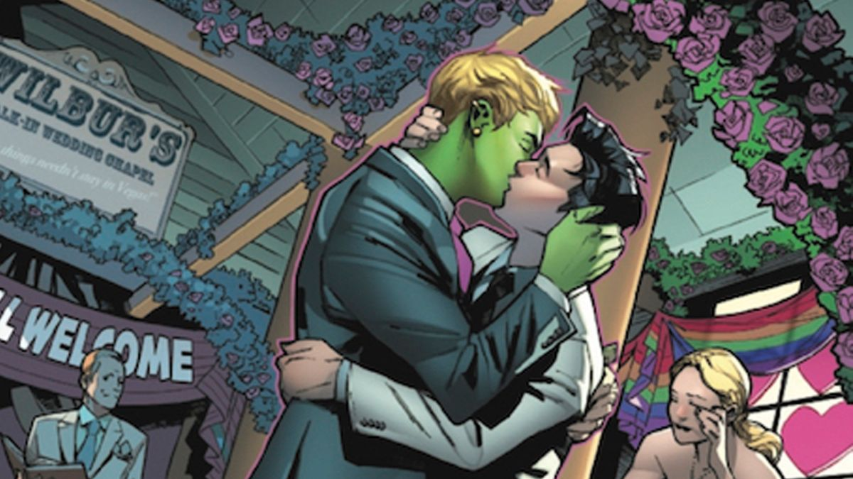 Wiccan and Hulkling could learn a lot from these superhero Personajes LGBT+ de los cómics