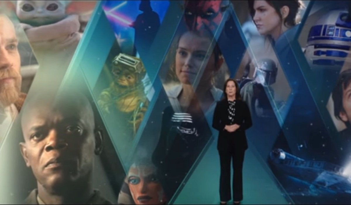 Kathleen Kennedy Star Wars Investor Day
