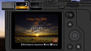 Sony unveils an in-camera graduated filter app | TechRadar