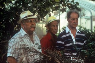 From left, Wilford Brimley, Hume Cronyn and Don Ameche in 1985's Cocoon.