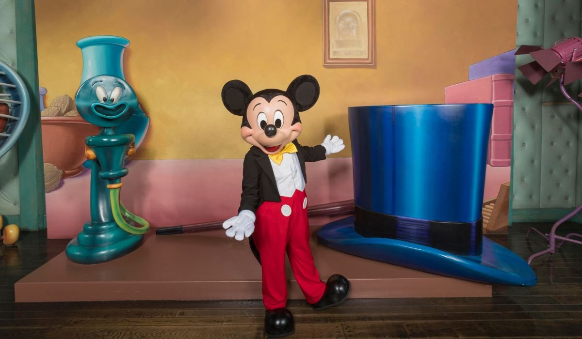 Mickey Mouse costumed character