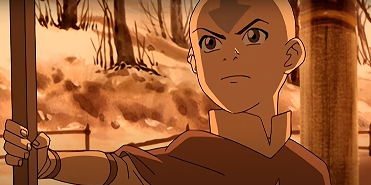 A still image from Avatar: The Last Airbender - Book 1: Water
