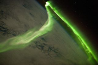 Amazing Aurora Seen From Space