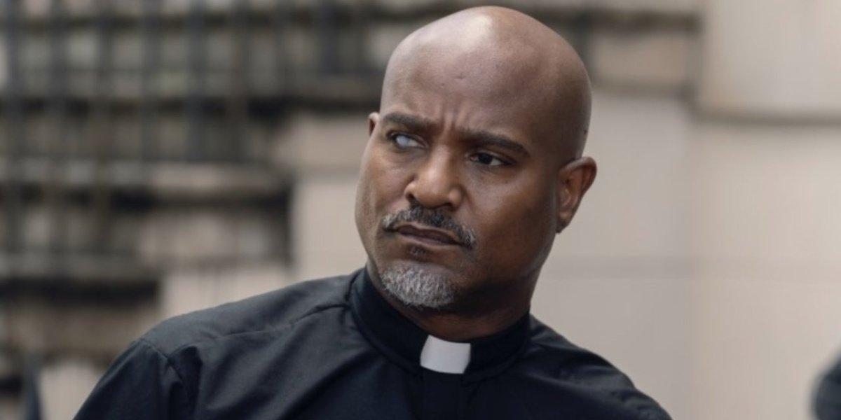 Father Gabriel in The Walking Dead.
