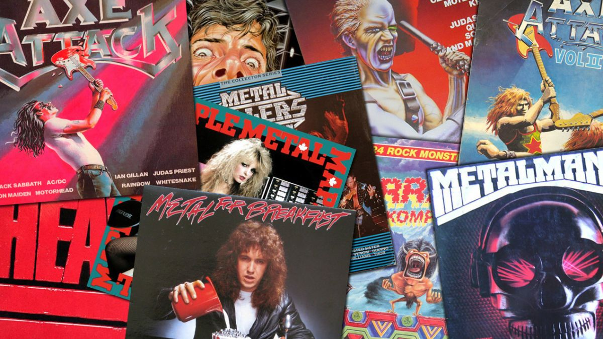 The 80s heavy metal compilations that changed our world