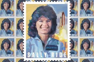 Sally Ride Postage Stamp