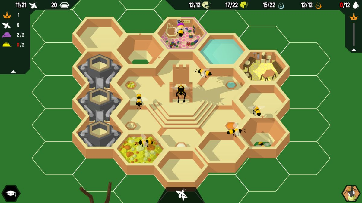 Watch a new trailer for bee management game Hive Time