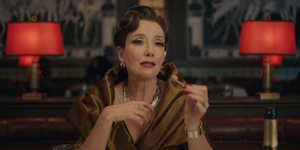 Emma Thompson as Baroness in Cruella.