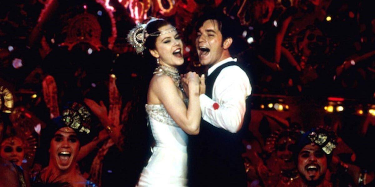 Nicole Kidman and Ewan McGregor in Moulin Rouge
