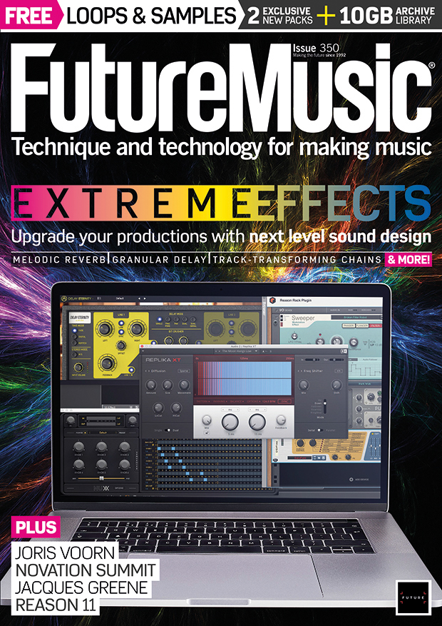 Issue 350 of Future Music is on sale now | MusicRadar