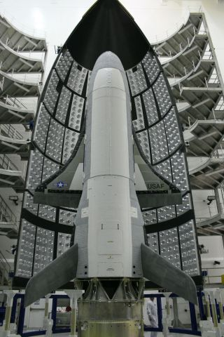 First X-37B Orbital Test Vehicle