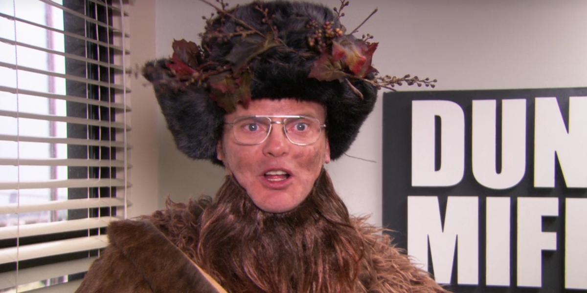 the office dwight christmas