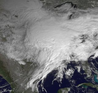 The massive winter storm that is roaring across the U.S.