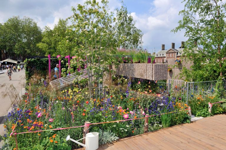 Jody Lidgard's Montessori Centenary Children's Garden takes gold at the Chelsea Flower Show | Real Homes