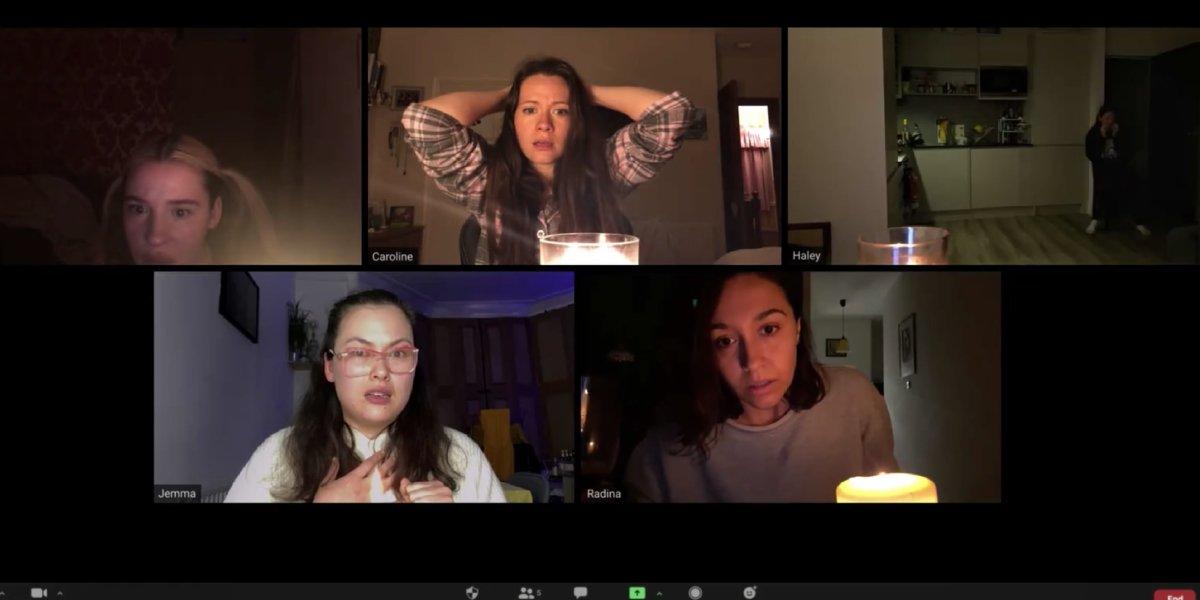 Emma Louise Webb, Caroline Ward, Haley Bishop, Jemma Moore, and Radina Drandova