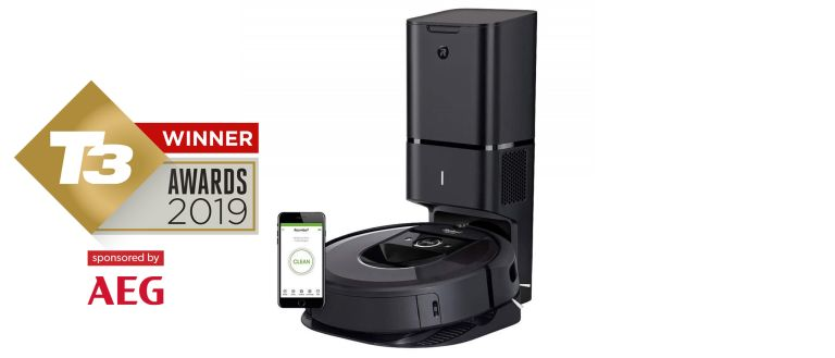 T3 Awards 2019: Best robot vacuum cleaner: iRobot Roomba i7+